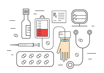 Free Medical Icons - vector gratuit #387121