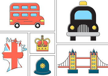 Free London Vectors - vector gratuit #387131