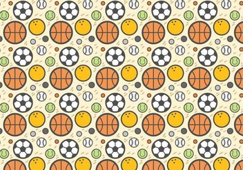 Free Sport Ball Vector - Free vector #387211