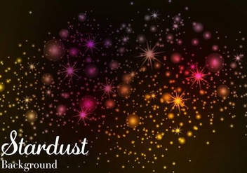 Free Stardust Background Vector - Free vector #387811