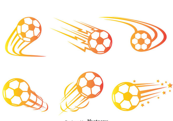 Soccer Ball Movement Vector - Kostenloses vector #387881