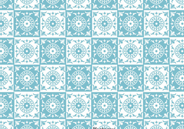 Traditional Tiles Pattern Vector - vector gratuit #388111