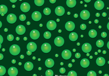 Green Bubbles Background - vector gratuit #388141