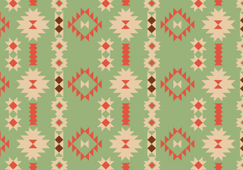 Native Geometric Pattern - vector gratuit #388261