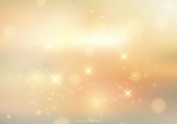 Sparkle Bokeh Background - vector gratuit #388301
