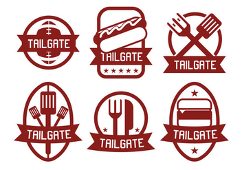 Tailgate Vector - Kostenloses vector #388391