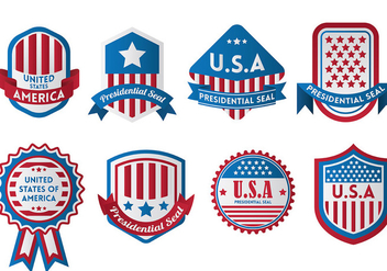 Free Presidential Seal Icons Vector - бесплатный vector #388401