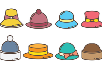Free Bonnet Icons Vector - Kostenloses vector #388471