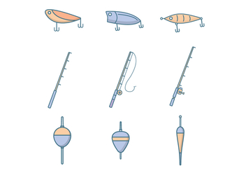 Free Fishing Vector - Free vector #388841