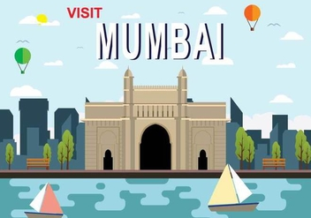 Free Mumbai Illustration - бесплатный vector #388911