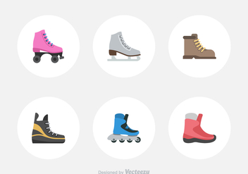 Free Sport Shoes Vector Icons - Kostenloses vector #389041