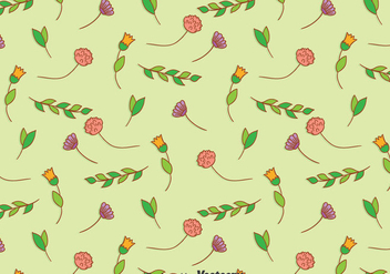Thistle Seamless Pattern - Free vector #389521