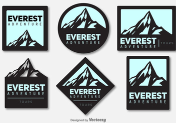 Everest Vector Logomarks - бесплатный vector #389611