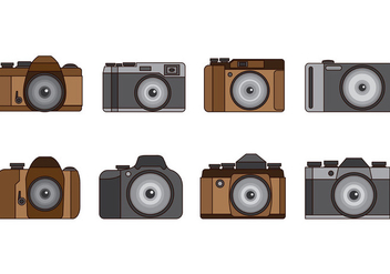 Set Of Camara Vector - Free vector #389961