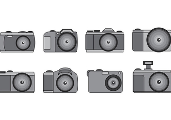 Set Of Camara Vector - Free vector #389971