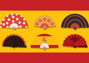Spanish Fan Vector - Free vector #390131