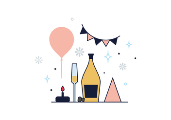 Free Small Party Vector - Kostenloses vector #390291