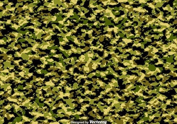 Vector Military Multicam Pattern - Kostenloses vector #390791