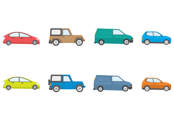 Free Cars Vector - Free vector #390821