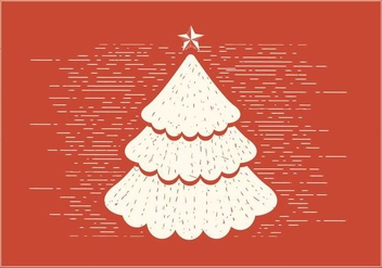 Free Vector Christmas Tree - vector gratuit #390901