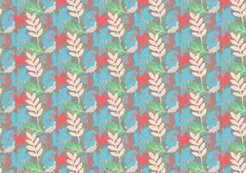 Plant Vector Pattern - Free vector #391191