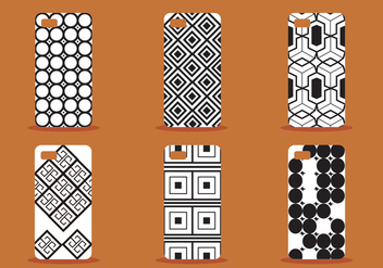 Phone Case Vector Set - Kostenloses vector #391431