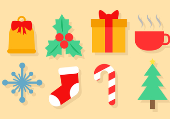 Free Christmas Icons Vector - Kostenloses vector #391441