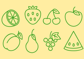 Free Fruit Vector - бесплатный vector #391451
