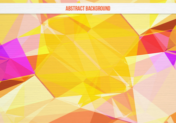 Free Vector Colorful Geometric Background - vector gratuit #391871