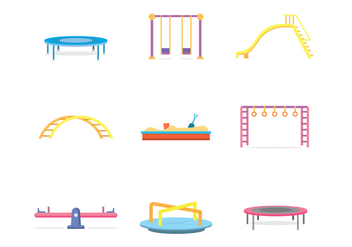 Free Kids Playground Vector - бесплатный vector #392291