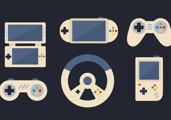 Free Video Game Vector - Free vector #392301