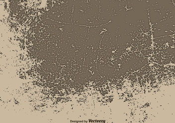 Old Brown Wall Illustration - Vector Grunge Surface - бесплатный vector #392601