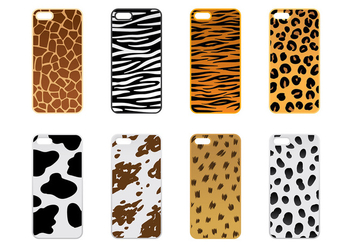 Phone Case Animal Texture Vector - Free vector #392641