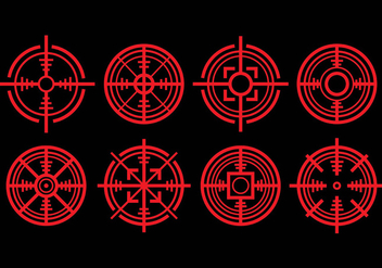 Laser Tag Icons - Free vector #392841