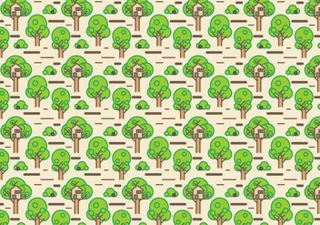 Free Tree House Vector - Free vector #393071
