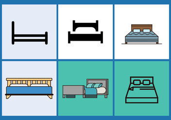 Mattress Vector Pack 1 - vector gratuit #393191