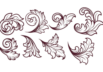 Acanthus Vector - Free vector #393271