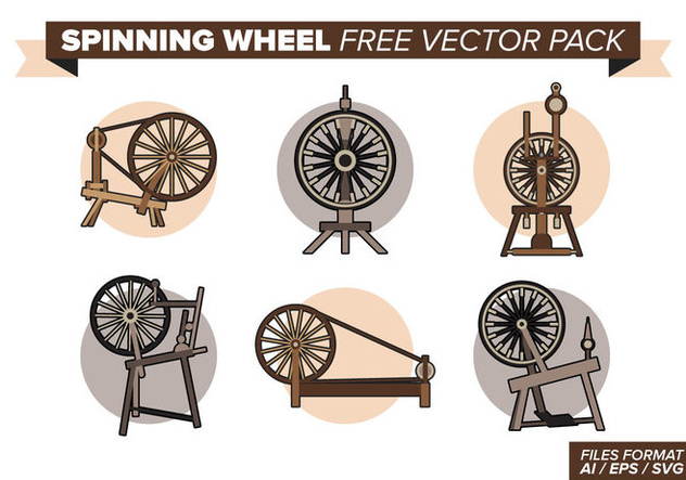 Spinning Wheel Free Vector Pack - Kostenloses vector #393311