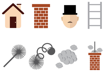 Chimney Sweep Vector - vector gratuit #393411