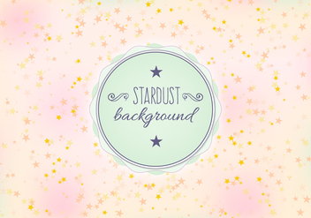 Free Vector Stardust Background - Kostenloses vector #393511