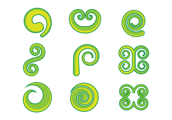 Free Koru Graphic Vectors - бесплатный vector #393641