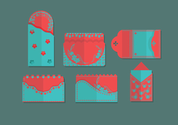 Red Packet Simple Vector - vector #393661 gratis