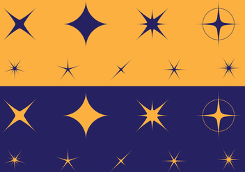 Sparkles Icon - vector #393711 gratis
