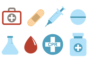 Medical and CPR Vectors - Free vector #393951