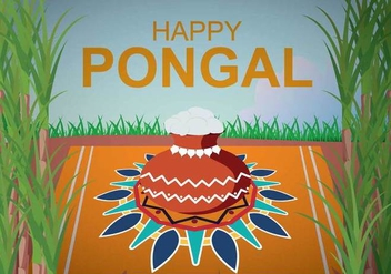 Free Pongal Illustration - Kostenloses vector #393961