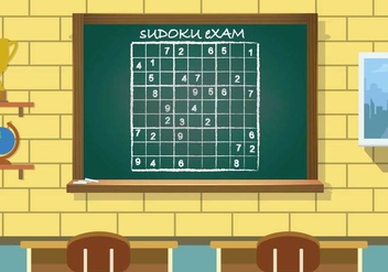 Free Sudoku Illustration - vector gratuit #394111