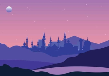 Free Arabian Night Illustration - vector gratuit #394131