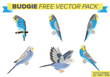 Budgie Free Vector Pack - vector gratuit #394151
