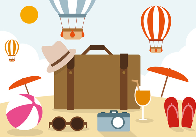Free Travel Vector Illustration - Kostenloses vector #394301