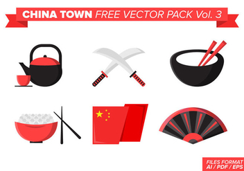 China Town Free Vector Pack Vol. 3 - бесплатный vector #394331